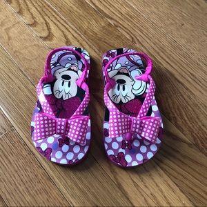 🌸Disney Minnie Mouse Toddler Little Girls Sandals